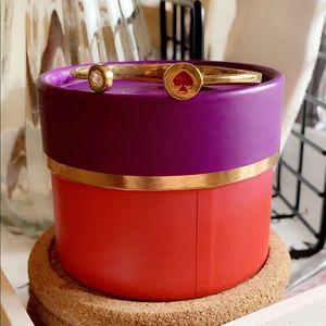 ♠️Kate Spade Bangle | gold & purple